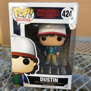 Stranger Things Dustin Pop TV Funko Figure
